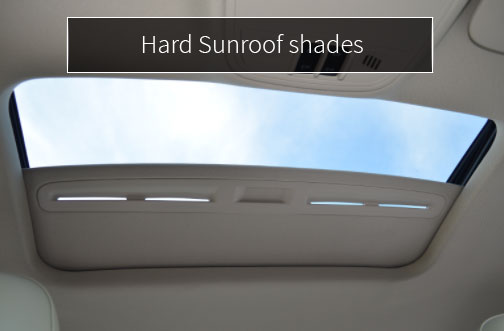 caip hard sunroof shades