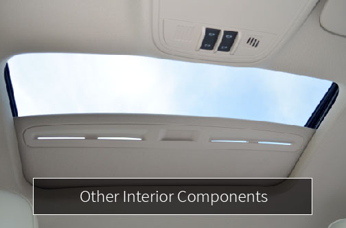 caip other interior components