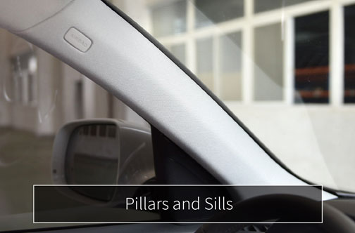 caip products pillars and sills